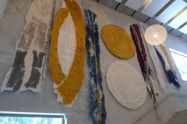 Claudy Jongstra - Liberal Jewish Center and Synagogue - Art | Claudy Jongstra