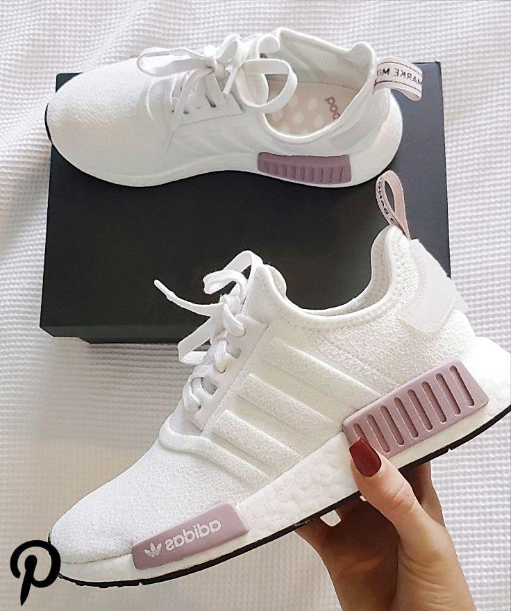 Fácil de leer insuficiente Maestro  Damen Laufschuhe Trainer NMD r1 weiß und lila rosa adidas Schuhe - Shoes - # Adidas #Damen #Laufsch | Adidas shoes women, Pink adidas shoes, Sneakers  fashion