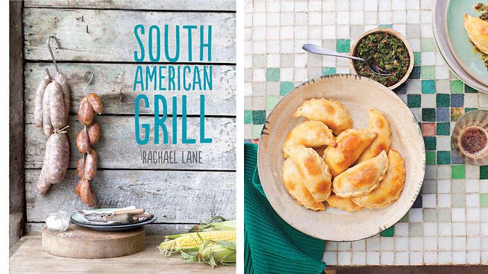 South American Grill by Rachel Lane. Meat lovers rejoice with this cookbook exploring the numerous ways of grilling meat in South America, where it's a national sport. However, no need for an asada or churrasco grill to achieve these mouth-watering recipes at your place.