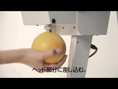 Grapefruit Juicer Cajyutta(カジュッタ)ビデオマニュアル