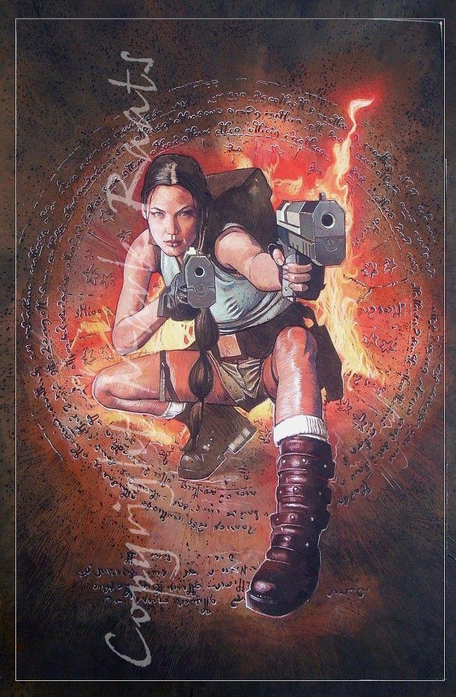 Lara Croft by Mark Raats