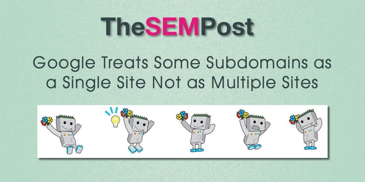 Google Treats Some Subdomains as Single Site Not Multiple Sites
