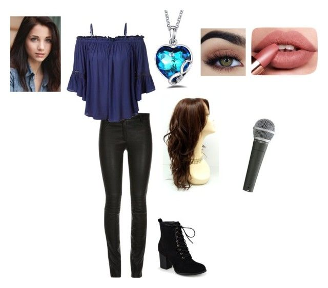 """""""Veronica's Night Club Outfit"""" by superherogeek ❤ liked on Polyvore featuring ElleSD, LE3NO, Journee Collection and Pyle"""