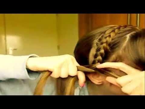 HOW TO DO A DUTCH BRAID HEADBAND ON YOURSELF / BRAID HEADBAND - YouTube