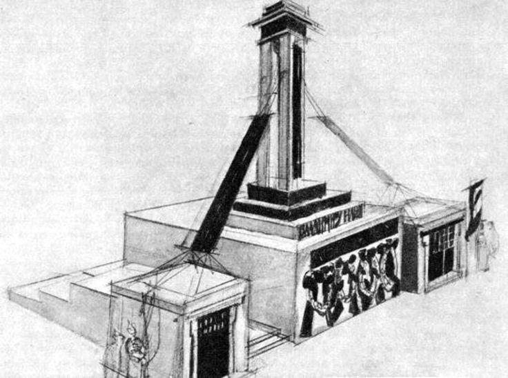 Aleksey Shchusevn: Lenin's Tomb 1924