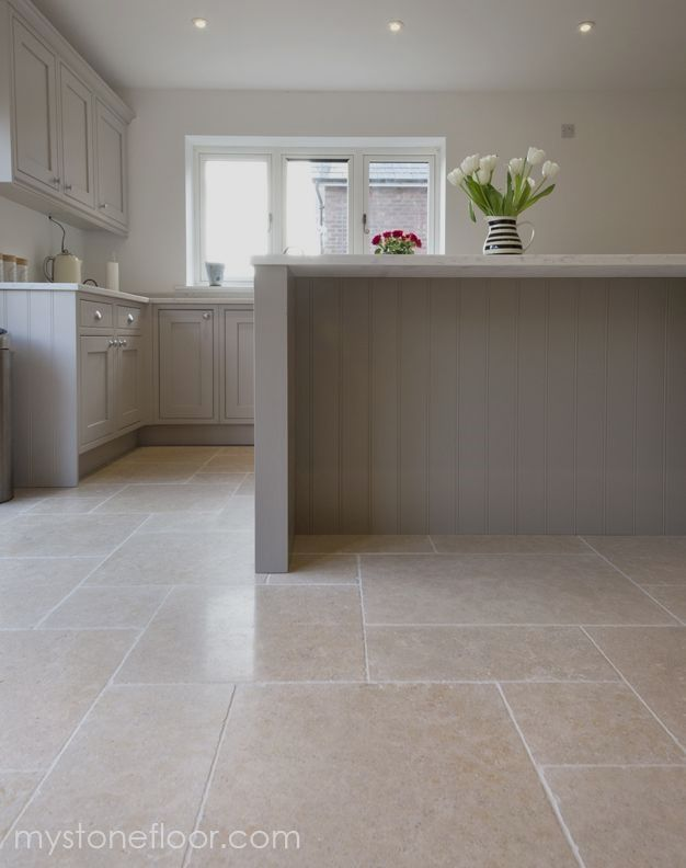 Dijon Tumbled Limestone Tiles Beautiful Minerals And Fossils In Our Dijon Limestone Wall Floor Tiles Or House Flooring Kitchen Flooring Kitchen Floor Tile