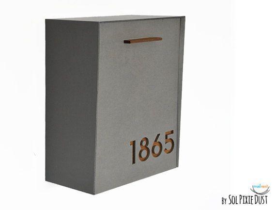 1000 Ideas About Modern Mailbox On Pinterest Steel