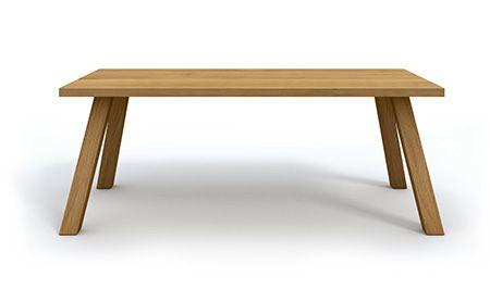 WILD - Miloni.pl/en MILONI: wooden table, oak table, natural wood table, table design, furniture design, modern table