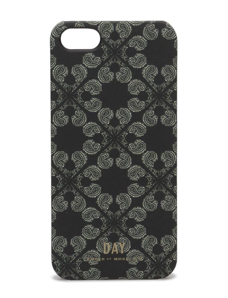 DAY - Day IP Mono 5 Keep your IPhone safe with this stylish and elegant sleeve from DAY. The Sleeve is crafted in DAY's signature print and fits an Iphone5.  iPhone case Logo detail Elegant Exquisite patterning Sophisticated