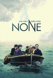 'AND THEN THERE WERE NONE' (2015) | BBC1: Poster. 'Stars include Sam Neill, Charles Dance and Aidan Turner. Ten strangers are summoned to an island by an anonymous letter, but then start to die one by one.'  'Cornwall was used for many of the harbour and beach scenes, including Holywell Bay, Kynance Cove, and Mullion Cove.'      ✫ღ⊰n