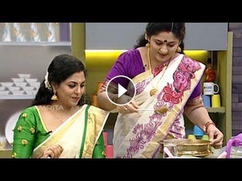 Actress Asha Sarath on Annie's Kitchen | Chakka prathaman | chakka payasam recipe