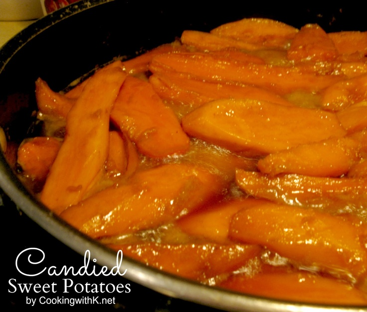Cooking with K | Southern Kitchen Happenings: Southern Candied Sweet Potatoes {There is more to sweet potatoes than just #pies and #casseroles}