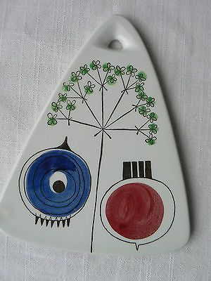Rorstrand Sweden triangle cutting cheese board Picknick Marianne Westman 28