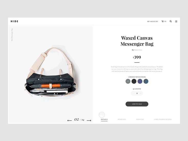Hi everyone,  Some more explorations on a current ecommerce concept project that I'm working on. I'm happy that how it turned out. Thanks for the feedback and support people :)   Used principle for...