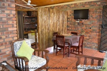 Getaway Bush Self Catering House. Marloth Park self catering accommodation.