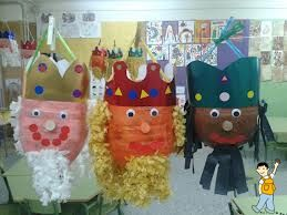 Decoración escolar Reyes Magos
