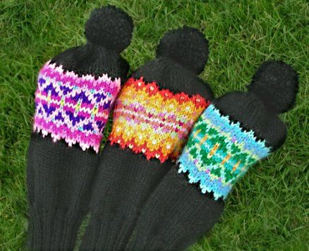 Knitting Patterns For Golf Club Headcovers : 33 best images about Golf club covers on Pinterest Fair ...