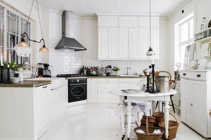 Köket som har alla pusselbitarna på rätt plats