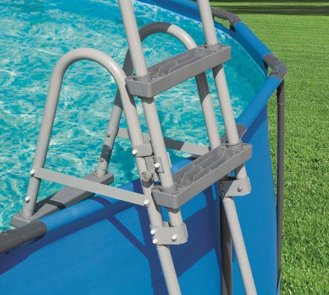 Piscine Tubulaire Frame Pool Bestway L 4 62 X L 2 54 X H 1 22 M Leroy Merlin En 2020 Piscine Tubulaire Piscine Maison