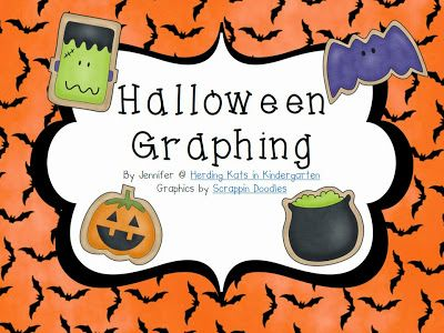 pumpkin math and halloween graphing freebies - Halloween Art For Kindergarten