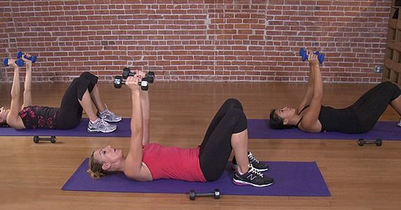 10 Minutes to Tone: Arm Workout This is a killer! She also trained a lot of Victoria Secret models