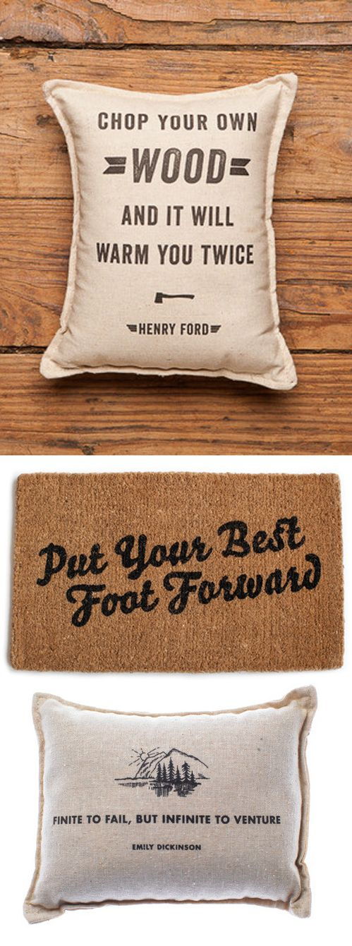 Cool Home Goods by Izola - Great housewarming, birthday, and holiday gifts as well! #gift #home #pillow