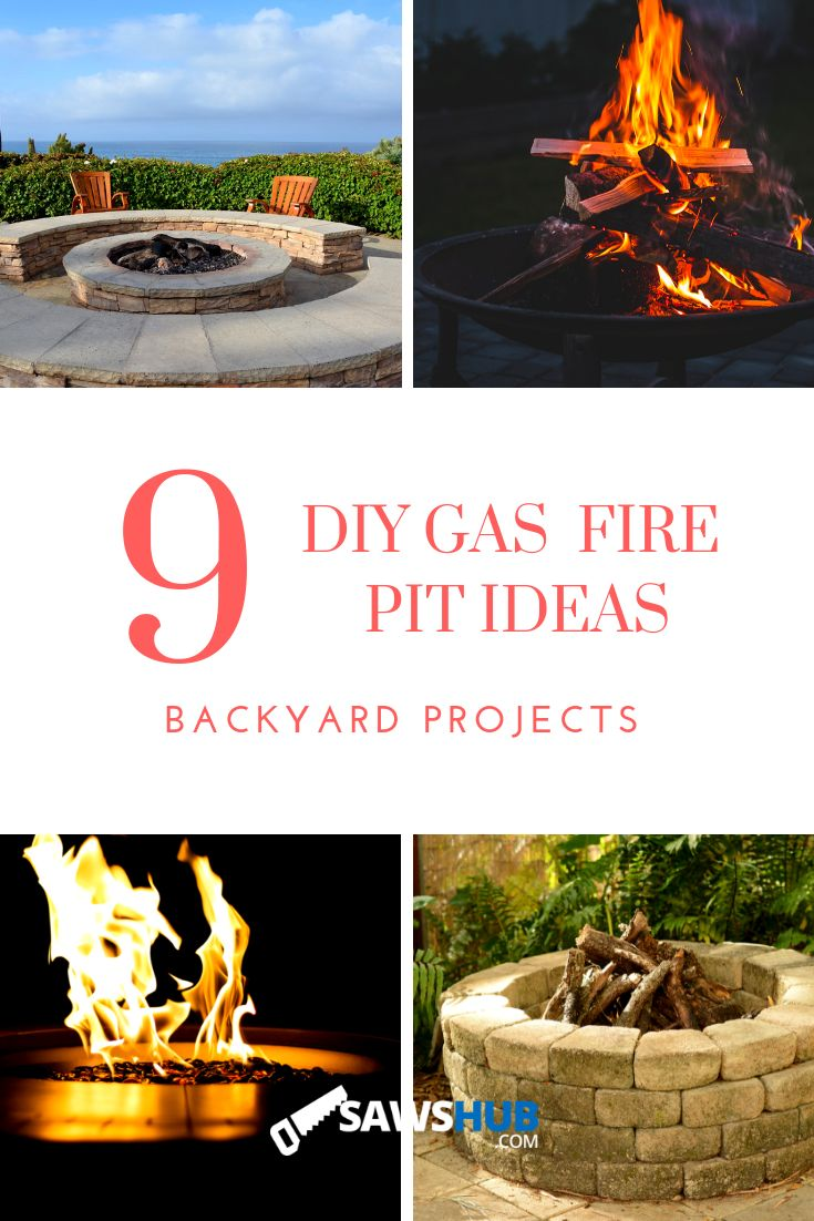 9 easy, cheap homemade gas and propane fire pit ideas for ...