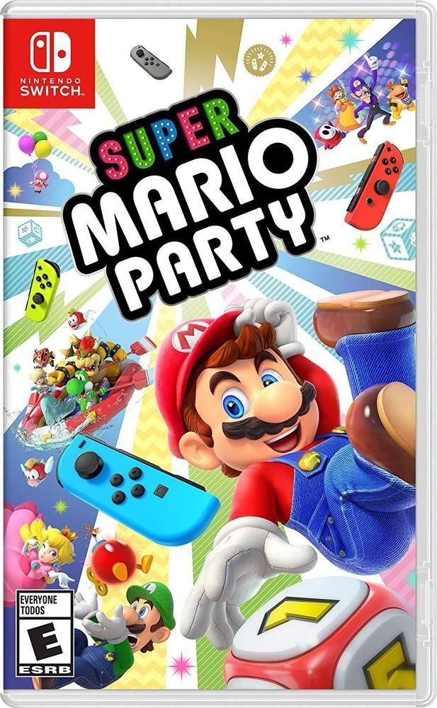 Super Mario Party Nintendo Switch Videogames Gaming Gamers