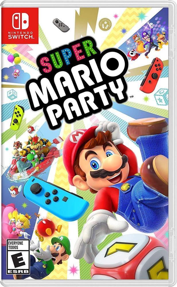 Super Mario Party Nintendo Switch Nintendo Switch Super Mario Mario Party Games Nintendo Switch Games