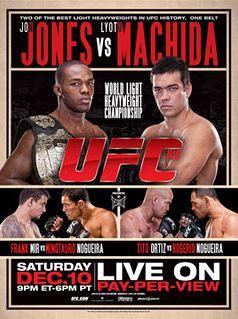 UFC 140 Official Fight Bill Poster - Toronto, ON, 12/10/2011 - Jon Bones Jones vs. Lyoto Machida, - available at www.sportsposterwarehouse.com