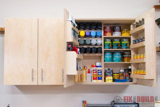 Diy Wall Cabinets With 5 Storage Options Diy Garage Storage