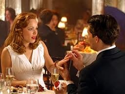 """The Notebook - Rachel McAdams as Allie Hamilton and James Marsden as Lon Hammond """"She didn't know why, but the moment she said yes, Noah came to her mind... """""""