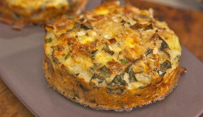 Gluten-Free Almond, Vegetable and Ricotta Slice
