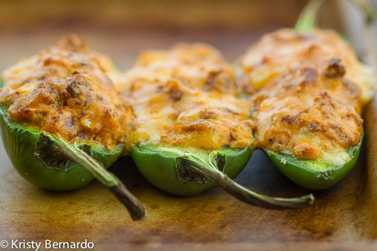 stuffed jalapenos with mexican chorizo and smoked gouda  @the wicked noodle