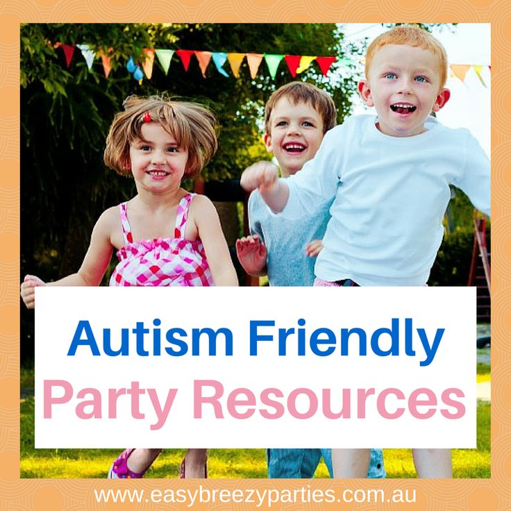 Helpful resources for a successful party for your child with autism - apps, books, social stories, hints and tips. http://www.easybreezyparties.com.au/autism-friendly-party-services/asd-friendly-resources.html #easybreezyparties #autismfriendly