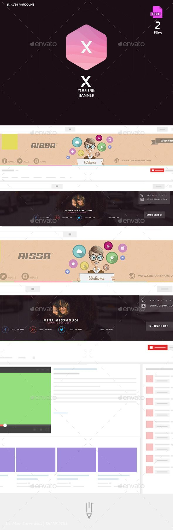 51 best Youtube Banner Template images on Pinterest | Banner ...
