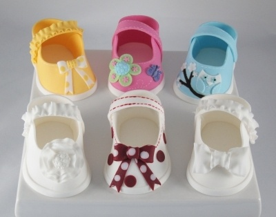 Baby shoes By sweet-delights on CakeCentral.com