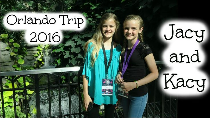 Our Weekend in Orlando during Playlist Live 2016 ~ Jacy and Kacy