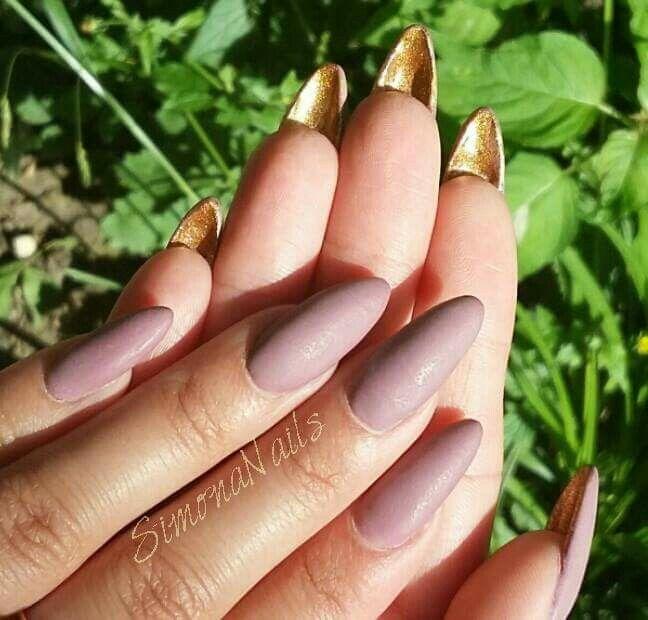 #Matt #nails #manicure
