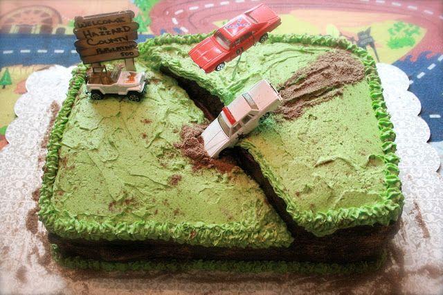 Dukes Birthday Cake Ideas Hazzard