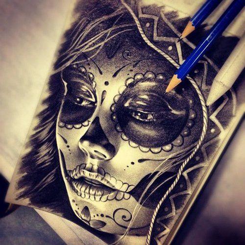 best 25 sugar skull drawings ideas on pinterest easy
