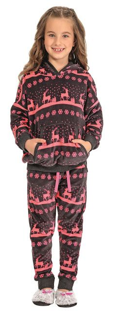 Özkan Kız Çocuk Kapşonlu Pijama Tk. 41573
