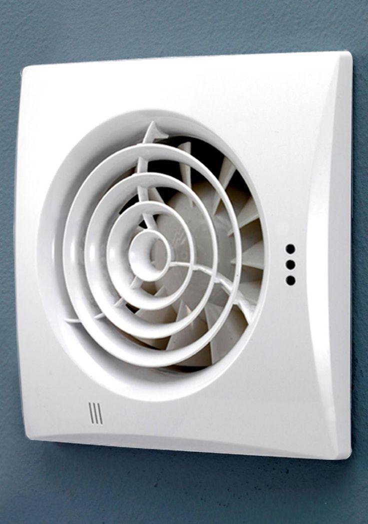 Bathroom Extractor Fans Humidity Sensor