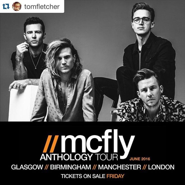 I'm so excited for this… Time to become a 'McFly tour wife' once again! The last time I saw the McFly boys perform was when I was pregnant with Buzz. A lot has changed since then!  #Repost @tomfletcher with @repostapp. ・・・ Fancy a McFly tour anyone?