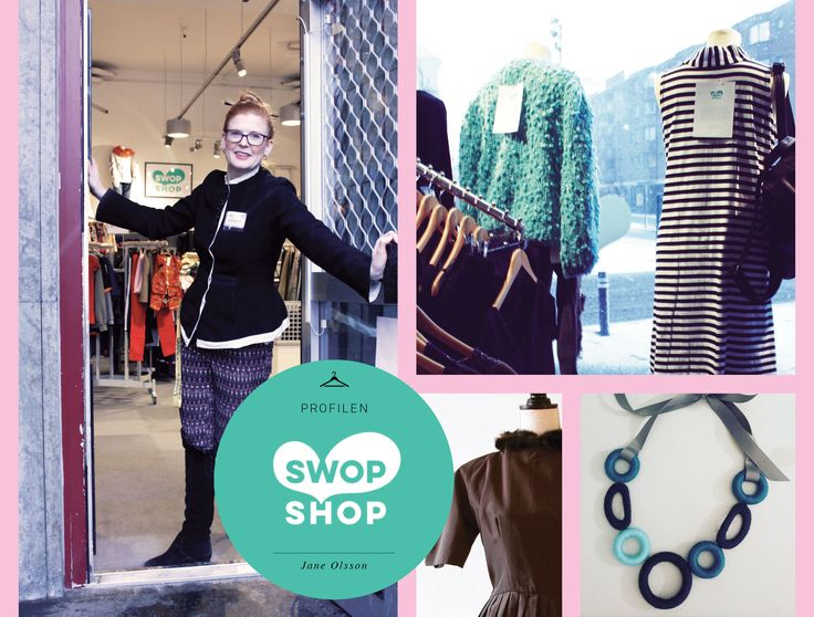 Meeting the founder of Swop Shop, Malmö. Fashion, vintage and second hand. Sustainable fashion! By Closet Chronicles