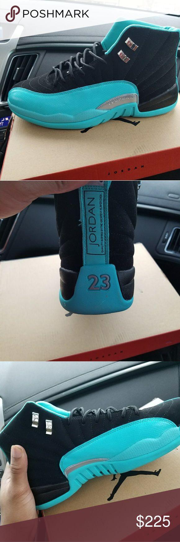Teal Jordan's Been worn once. No flaws. Jordan Shoes Sneakers