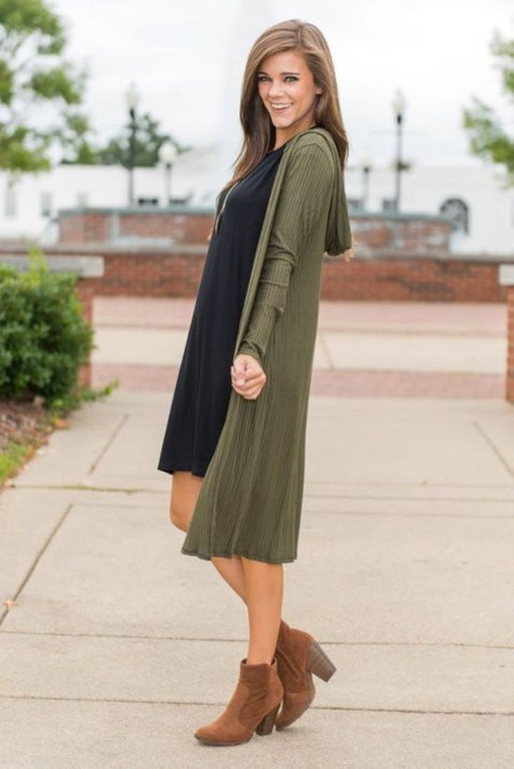Cool 47 Good Selection Fall Outfits with Long Cardigan 99outfit.com/…