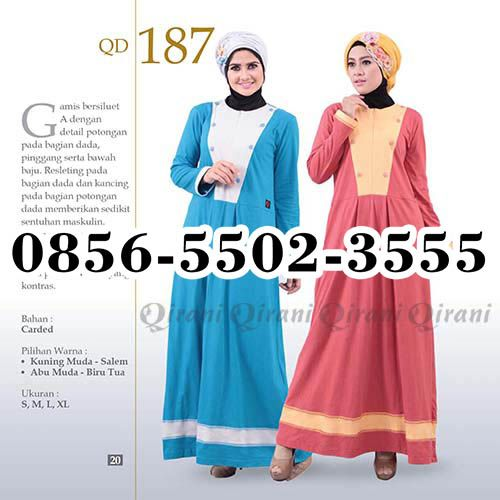 Gamis Qirani model 84, HP.0856-5502-3555