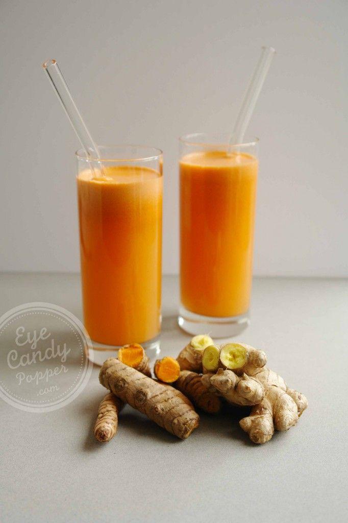 Pineapple Ginger fresh vegetable juice (vegan, raw, paleo) #healthy