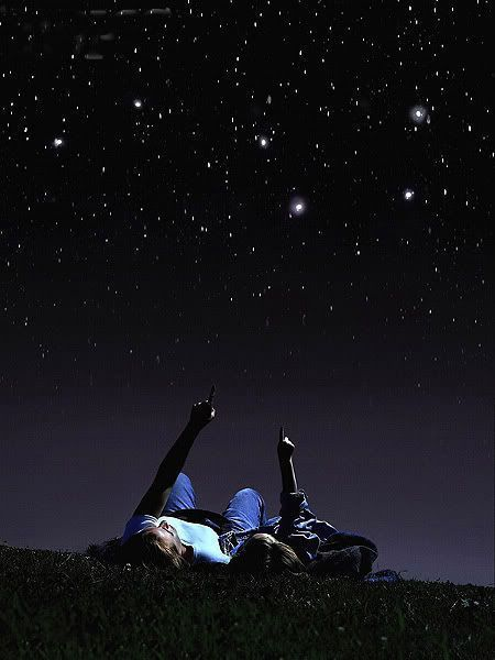 Once upon a time; Under the inky sky, Lying supine, Counting the stars, With you, Made me feel at home. But today; Under the same inky sky, Lying supine, Counting the stars, Without you, Mak...
